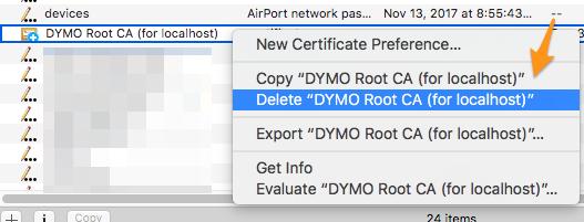 DYMO Not Working - Mac – InventoryLab
